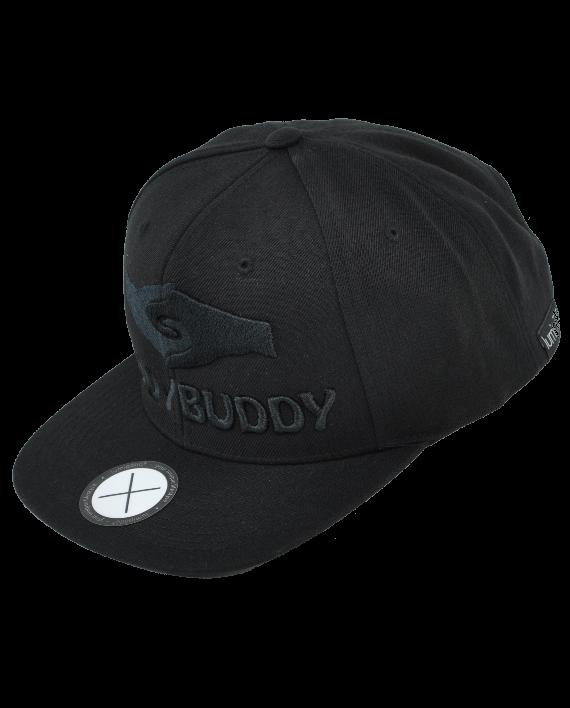 Cap BuddyBuddy Schwarz by lumipöllö®